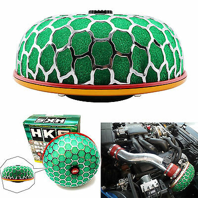 Universal Auto Car 3'' 80mm Super Power Air Filter Flow Intake Reloaded Cleaner
