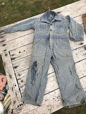 5 Antique Boys Clothes Cowboy Railroad Conductor Snow Coat Pants Hat Lot Repair