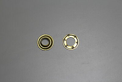 Solid Brass AUSTRALIAN MADE SP3 Eyelets and Spur Washers 100 sets