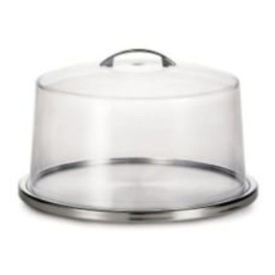 OpenBox TableCraft Products H821421 Cake Stand Plus Cover Set