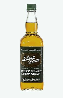 Johnny Drum Green Label Kentucky Bourbon Whiskey 750ml