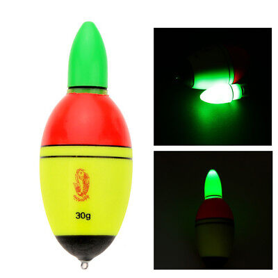 Night Luminous EVA Buoy Fishing Float Glowing LED Floats Fishing Bobber Ardent