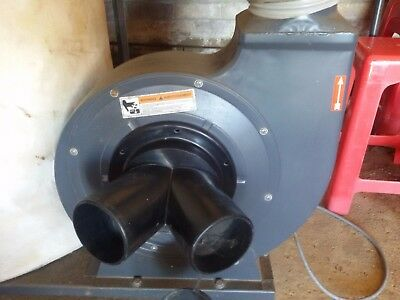 DUST EXTRACTOR COLLECTOR HAFCO 2 Hp 1 Phase 240V