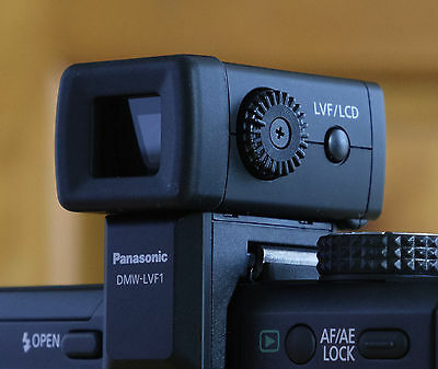 Panasonic Lumix DMW-LVF1 External Live Viewfinder for Lumix GF1 Camera