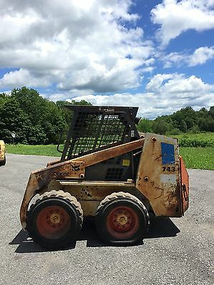 Bobcat 743 Skid Steer Loader For Parts Or Project We Ship