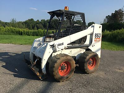 Bobcat 863 Skid Steer Loader Needs Work WE SHIP!
