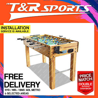 4Ft Wooden Soccer / Foosball Game Table Free Syd Mel Bne Adl Metro Delivery