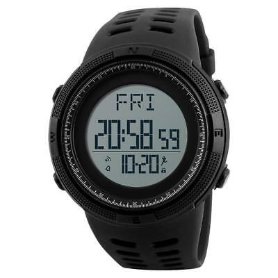 Pedometer Sports Watch Waterproof Digital Gym Jogging LED Wrist Skmei Running
