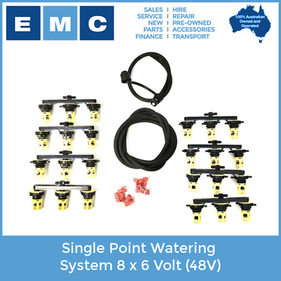 Single Point Watering System 8 x 6 Volt (48V) - Flow Rite Brand