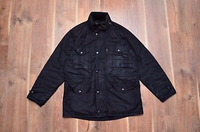 Barbour Men's Sapper Waxed Jacket Large L