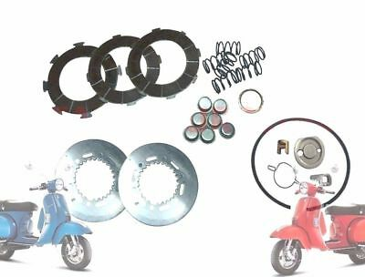 VESPA PX LML STAR STELLA CLUTCH REPAIR KIT 200 cc BIG @DE