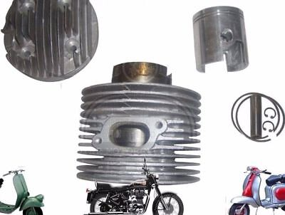NEW LAMBRETTA 225 cc SCOOTS LARGE BLOCK PERFORMANCE ALLOY CYLINDER KIT @DE