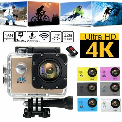 Ultra 4K WiFi 16MP HD 1080P Sports DV Action Cam Camera DVR Camcorder Waterproof