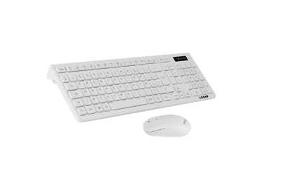 Ensemble Clavier sans fil AZERTY + Souris sans fil 2,4 GHz 2000 DPI Ordinateur