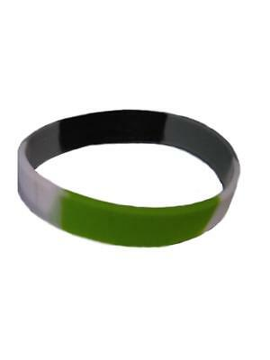 Agender Bracelet Silicone Pride Gay-Pride Rainbow New Top Free Delivery!