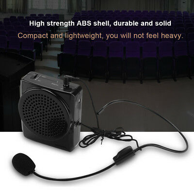 Portable Waistband Amplifier Changer Voice Booster Loud Speaker Microphone zy