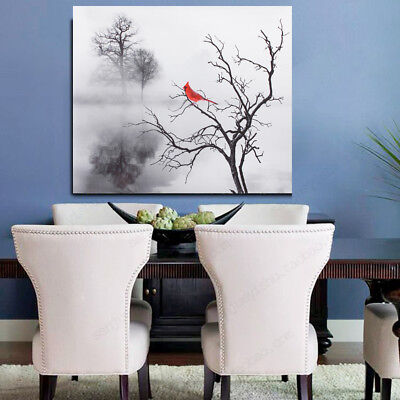 Modern Bird Canvas Print Painting Picture Home Oil Wall Art Decoration Unframed