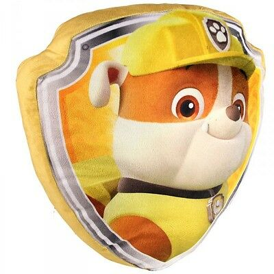 Paw Patrol OFFICIAL Rubble Cushion/Pillow NEW