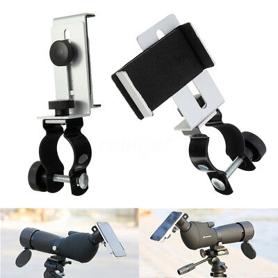 1Pc Metal Astronomical Telescope Connecting Cell Mobile Phone Holder Stand UK