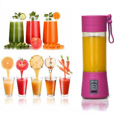 Portable USB Electric Fruit Juicer Smoothie Maker Blender Bottle Juice Shaker