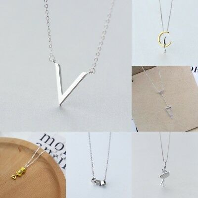 Charm Women 925 Silver Pendant Clavicle Chain Choker Necklace Jewelry Gift