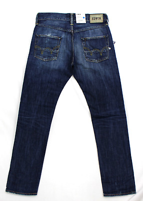 Edwin ED-55 Relaxed Tapered Straight Fit Mens Jeans G10 Wash