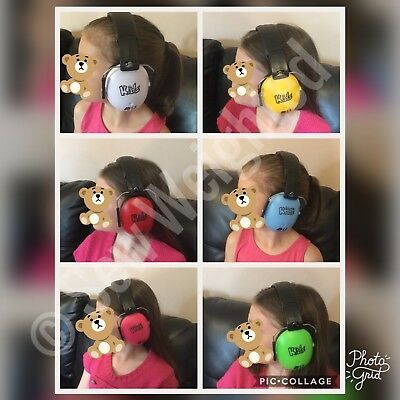 Edz Kids Noise Cancelling Ear Defenders ~ 7 Colours Available ~ Autism