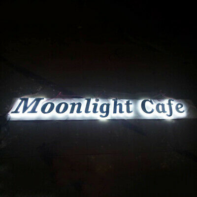 led lighting sign letters business signs advertising logos outdoors customized