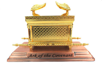 Ark of the Covenant Box Gold Plated Metal  from Jerusalem A Jewish Souvenir