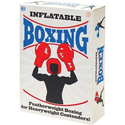 Inflatable Boxing Set With 4 Gloves And 2 Helmets