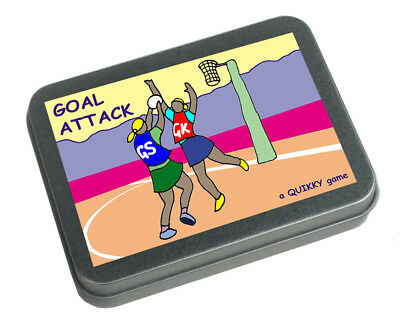 Netball - Goal Attack - a Quikky portable pokket-size game for all Netball fans