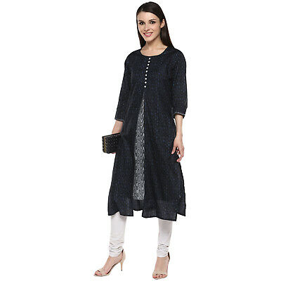 Indian Bollywood Designer Lagi Cotton Kurti Ethnic Style Dress Top Tunic Women