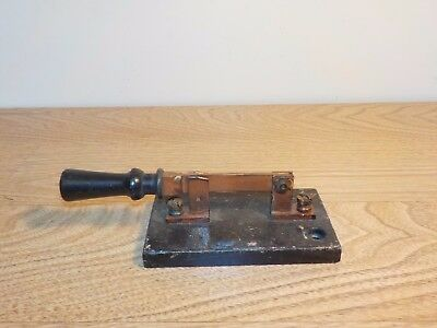 Vintage Trumbull 30 Amp. 250 Volt Throw Knife Switch Steampunk