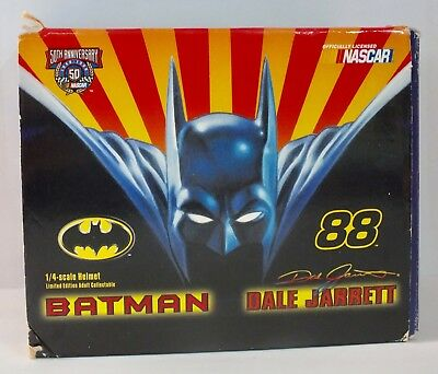 Dale Jarrett & Batman - Limited Edition (of only 8000) 1/4 scale Helmet - boxed