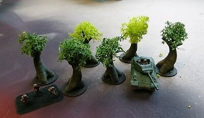 *SCENERY* 15mm scale trees - Flames of War etc.
