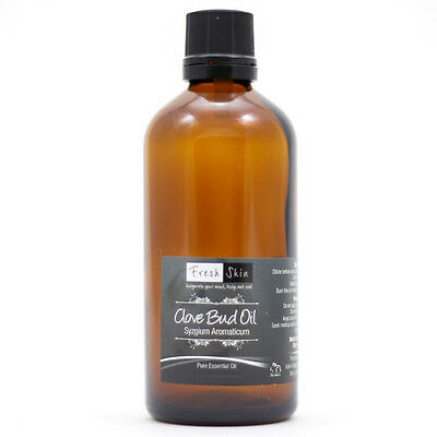 50ml Clove Bud Essential Oil - 100% Pure, Certified & Natural - Aromatherapy