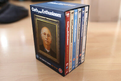 Curb Your Enthusiasm - Series 1-6 - Complete (DVD, 2008, 13-Disc Set)