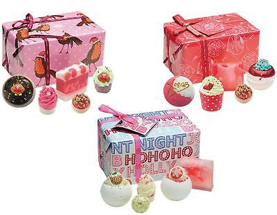 Bomb Cosmetics Luxury Wrapped Handmade Natural Soap Christmas Pamper Gift Set