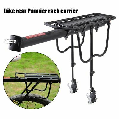 Quick Release Bicycle Rear Rack Bike Luggage Carrier Seatpost Bag Holder  BTF