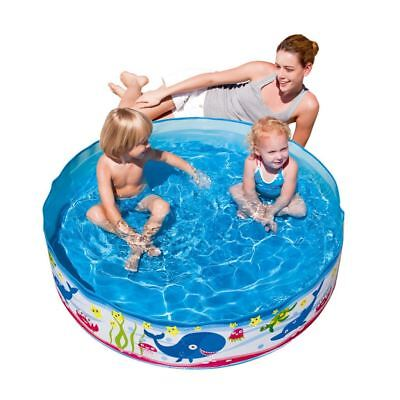 "Fill N Fun Garden Outdoor Kids Childrens Paddling Swimming Pool - 48""x 10"""