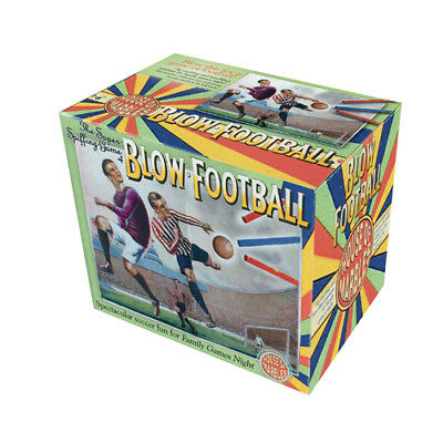 Blow Football Mini Football Game Traditional Classic Game Retro Table Top Game