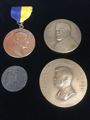 Misc Medals William Penn,Crane co,Kennedy