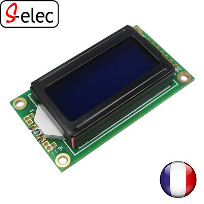 5041# Blue LCD0802 Character Display Module 5V for arduino lcd 0802 s-elec selec