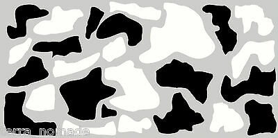 Camouflage COW  Decals Stickers Wrap Vinyl VW  Drift Modified 4x4 Car Roof