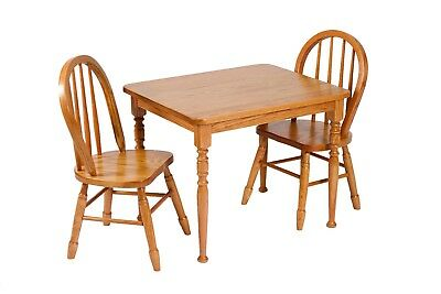 Wondrous Amish Kids Table And Chairs Set Solid Wood Wooden Children Complete Home Design Collection Barbaintelli Responsecom