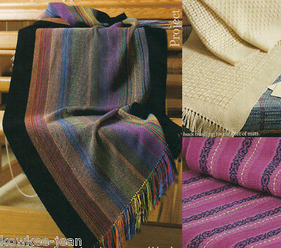 Handwoven magazine nov/dec 2009: runners, scarves, pillows, Bronson curtain