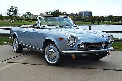 1985 Fiat Azzurra  85 Spider Lusso S2 Roadster Salon no Rust latest upgrades Gen 2 rack&pinion/more