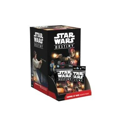 Star Wars Destiny Empire at War Factory Sealed Booster Box FREE SHIPPING