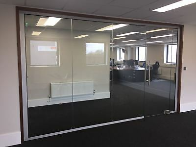 Glass Office Partitions delivered nationwide