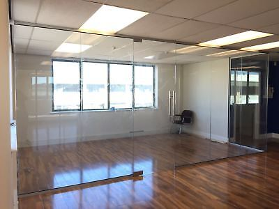 10mm Toughened Glass Office Glass Partitioning